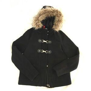 H&M hooded pea coat